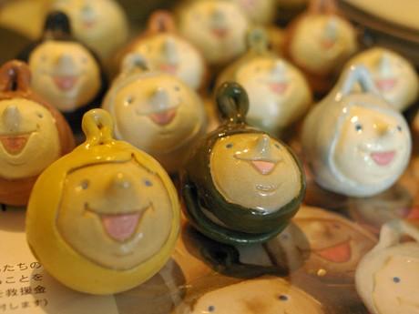 雑貨店ビアンスールでは、発売から20個弱を売り上げた「スマイルベル」