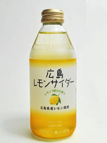 関東や関西での販売も予定する「広島レモンサイダー」