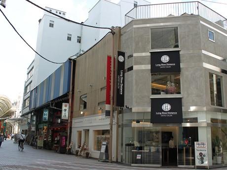 広島パルコ新館向かいの角地にオープンしたロングスロウディスタンス