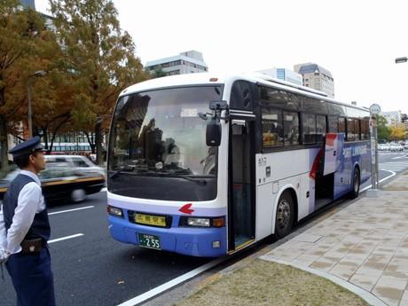 広島空港リムジンバスに新路線-...