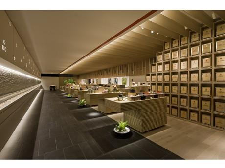 広島・袋町にオープンする紅茶・緑茶の専門店「ルピシア広島袋町店」店内イメージ