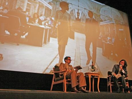 スタイリストの祐真朋樹さんとDJ沖野修也さんが登壇した「スタイリング講座」