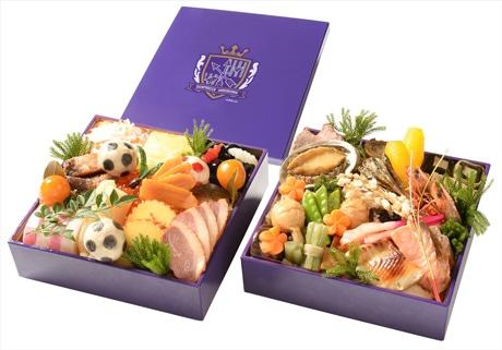 チームとして初めておせち料理をつくる「サンフレッチェ広島」