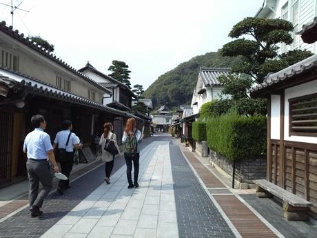 竹原市の町並み保存地区で開く体験型ゲームイベント