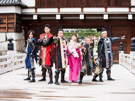 10月20日に1stシングルCD「SAMURAI PRIDE」をリリースした「安芸ひろしま武将隊」がMCとして参加