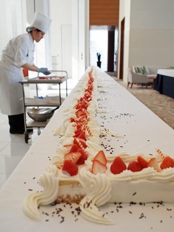 ブライダルでも提供する「ストロベリーショートケーキ」