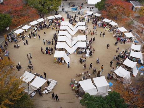 昨年11月に初開催した「ザ・トランクマーケット」会場