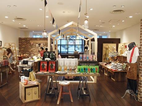 広島パルコに期間限定でオープンした「シティライツハウス」店内
