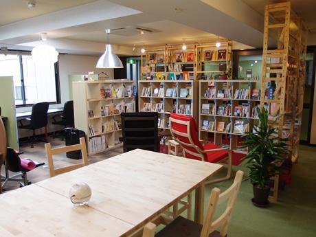 交流スペース「まち図書カフェ」