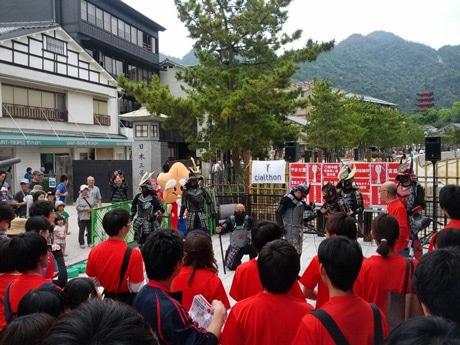 ユニークなイベントは2009年に東京・世田谷で誕生。広島では昨年初開催した。