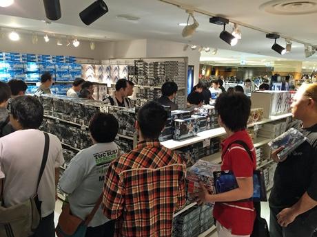 他会場の様子。広島では約3週間展示を行う