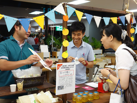 東京・有楽町で開催した「広島小商いメッセinトーキョー」での様子