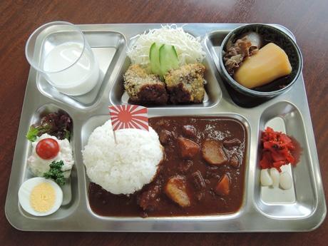 呉ハイカラ食堂で提供する潜水艦「そうりゅう」カレー