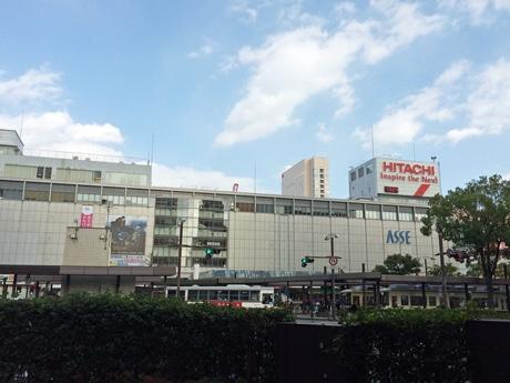 開業50周年を迎えた広島駅ビル外観
