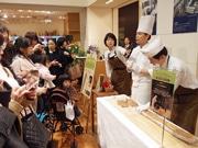 広島アンデルセンでパン祭り 熟練職人が日替わりで焼き上げる石窯パンも
