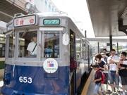 広島で「被爆電車」の運行継続 車内で被爆者の証言や映像上映も