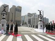 広島駅周辺で猿猴橋復元完成記念祭り「えんこうさん」 1万人が来場