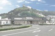 JR尾道駅、124年ぶりに建て替えへ 駅直結の宿泊施設も