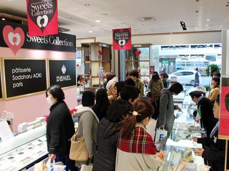今年で8回目となる「広島スイーツコレクション」1階フロア