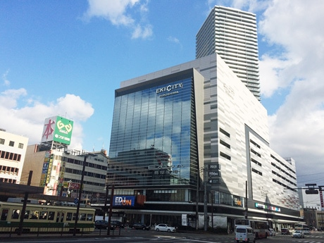 広島駅南口Cブロックの再開発ビル「エキシティ・ヒロシマ」