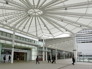 JR広島駅にショッピングセンター「ekie」今秋開業へ