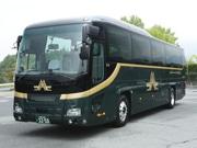 広島で豪華寝台列車「瑞風」専用バス公開 初運行は6月に兵庫で