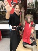 広島・宮島に「猿まわし劇場」 厳島神社近くに出店、屋内ステージでコンビ芸を披露