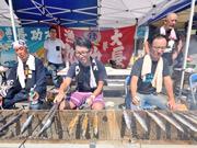 広島で「さんま祭り」 気仙沼産のサンマ2000尾、食べて被災地支援へ