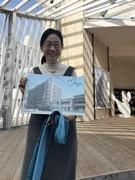 広島で映画「この世界の片隅に」公開1周年 原作者がロケ地にイラスト描き、おもてなし
