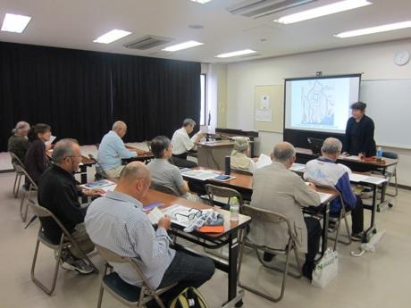 これまで竹屋公民館で開いてきた「広島の魅力再発見講座」の様子