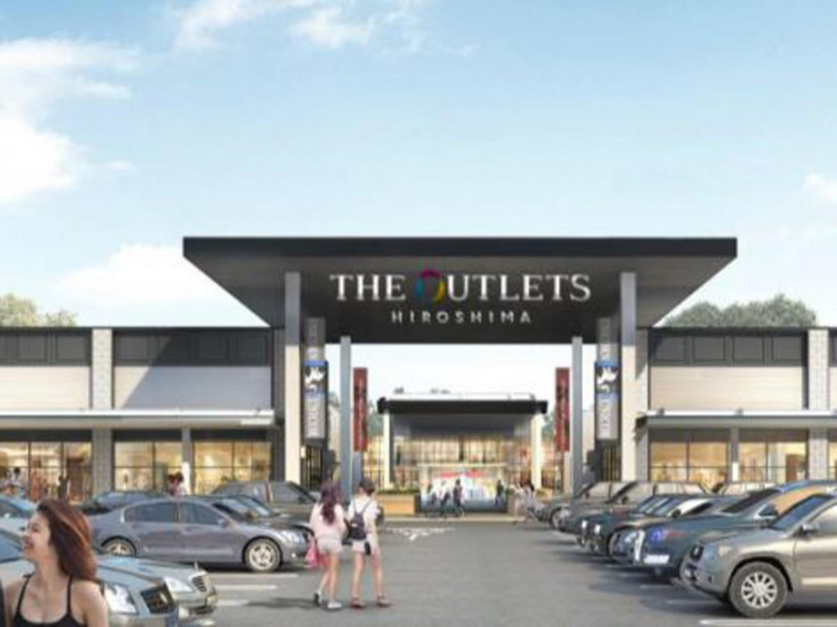 プレミアムアウトレットを核にした地域創生型商業施設「(仮称)THE OUTLET HIROSHIMA(ジ アウトレット広島)」イメージパース