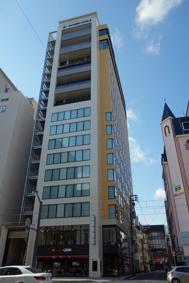 広島・八丁堀に開業する複合施設「広島八丁堀NKビル」外観
