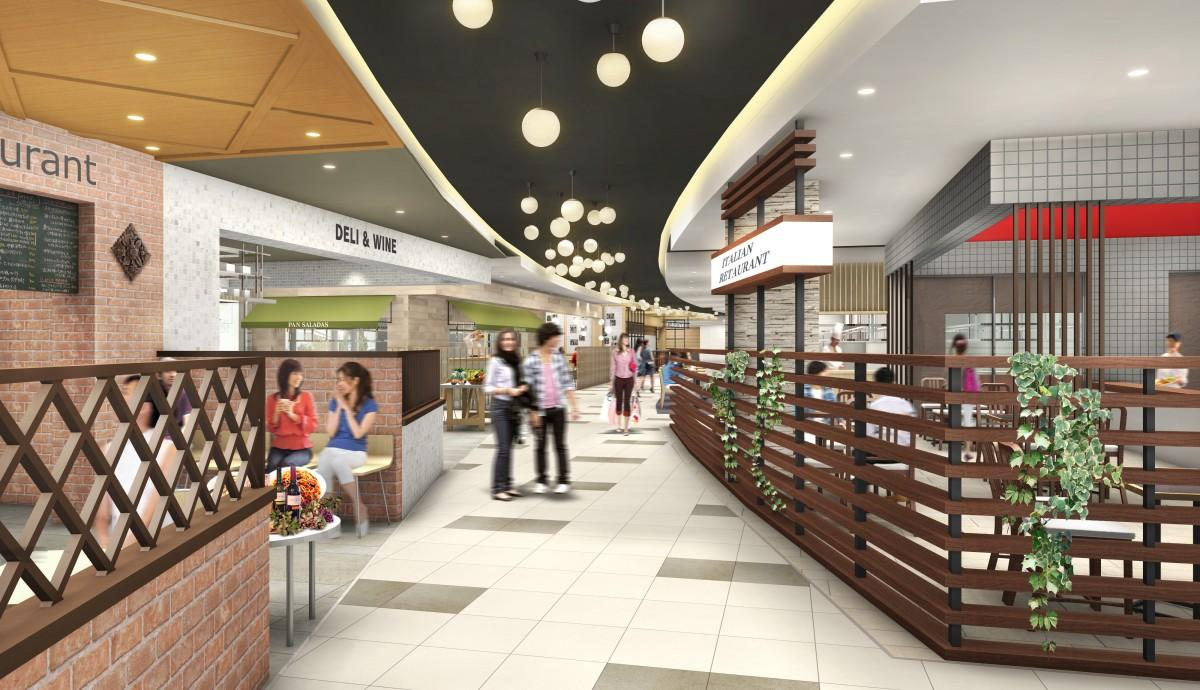 広島駅に今春、グルメゾーン「ekie DINING」オープン 地元店は新業態で出店も