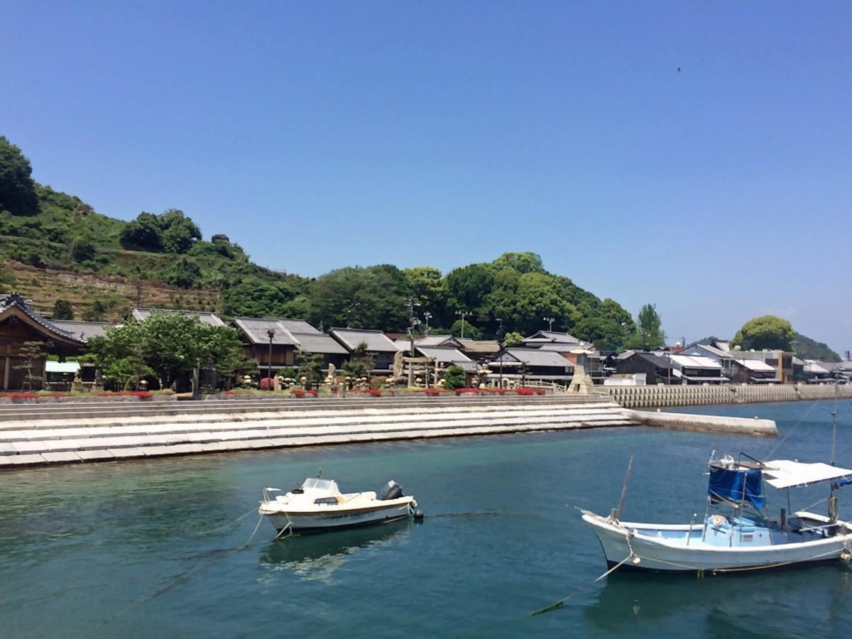 立ち寄り観光先に選ばれている大崎下島の御手洗エリア