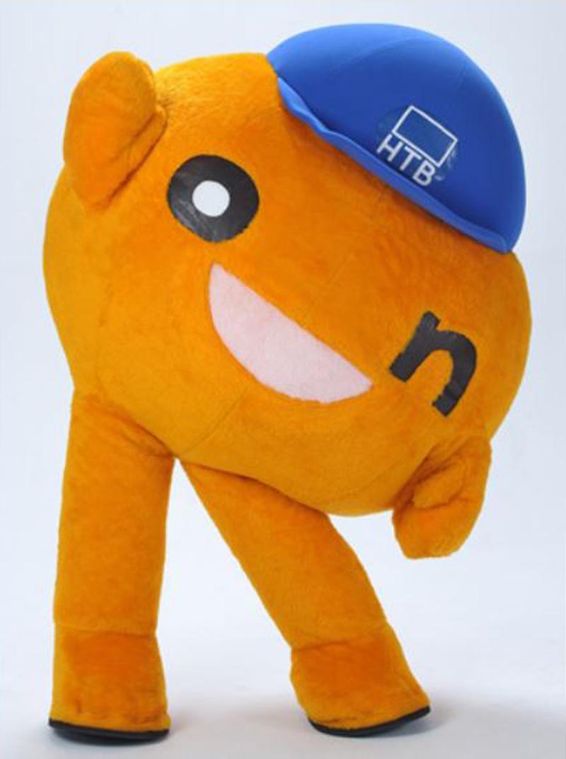 HTBのマスコットキャラクター「onちゃん」も会期中、毎日来場する