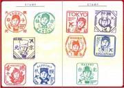 カープ新井選手が北海道や沖縄とコラボ 広島空港25周年スタンプラリー開催で