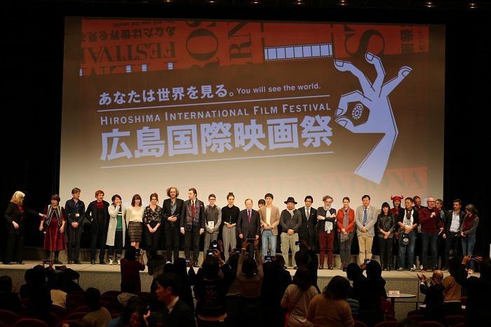 「広島国際映画祭2017」閉幕式とコンペティション受賞作の表彰式の様子