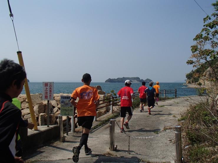 蘭島閣(らんとうかく)美術館のある下蒲刈島を2周するランニングイベント