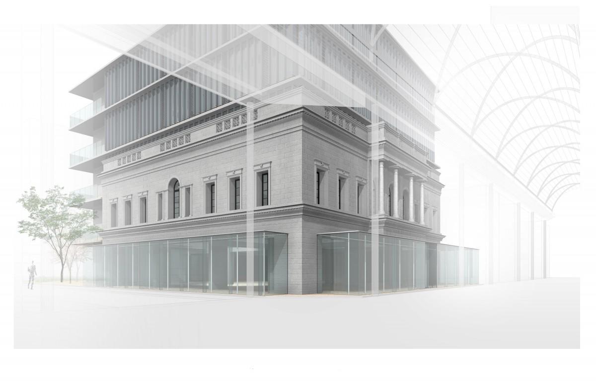 アンデルセングループの旗艦店「広島アンデルセン」の新店舗イメージパース