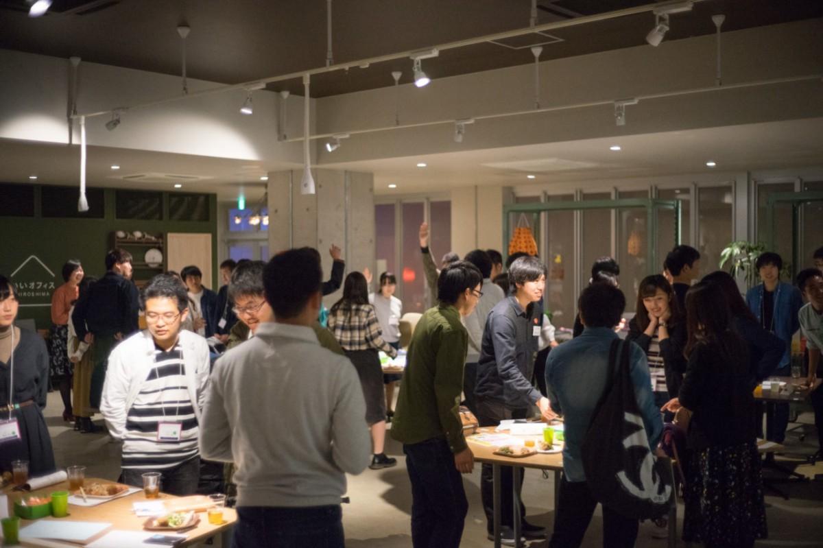 「いいオフィス広島」でこれまで開いてきたイベントの様子
