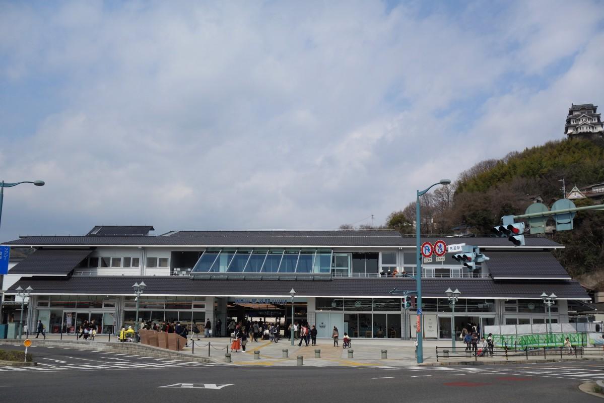 124年ぶりに建て替えた「尾道駅」新駅舎外観