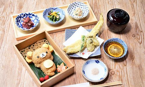 京都・嵐山に次いで国内2店舗目となる「宮島 りらっくま茶房」のカフェメニュー