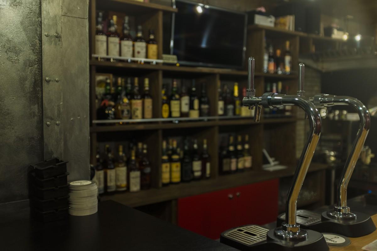 0次会から利用できる「Bar CONROD」店内