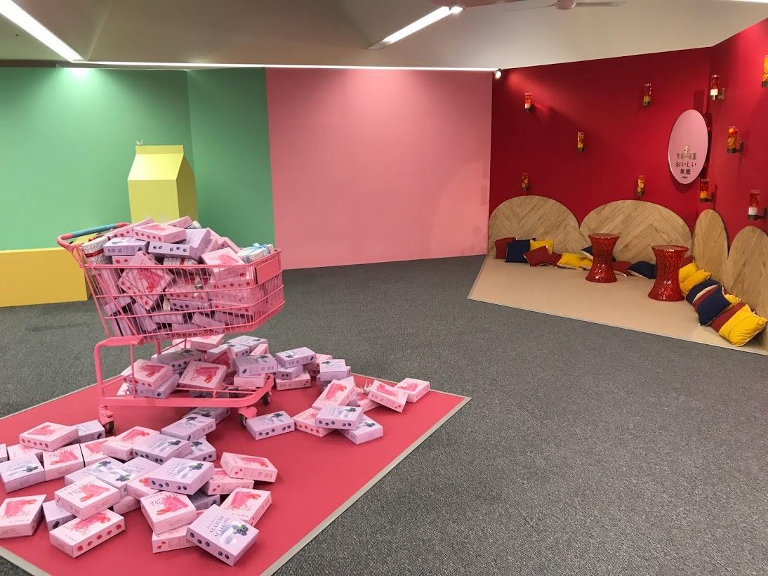 原爆ドームそばの複合商業施設「おりづるタワー」5階で開く参加型フォトジェニックアート展「VINYL MUSEUM」