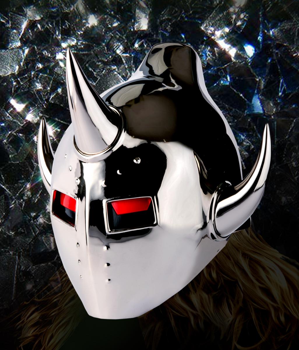 キン肉マン40周年特別企画として、原作の再現に挑んだ「悪魔将軍のマスク」