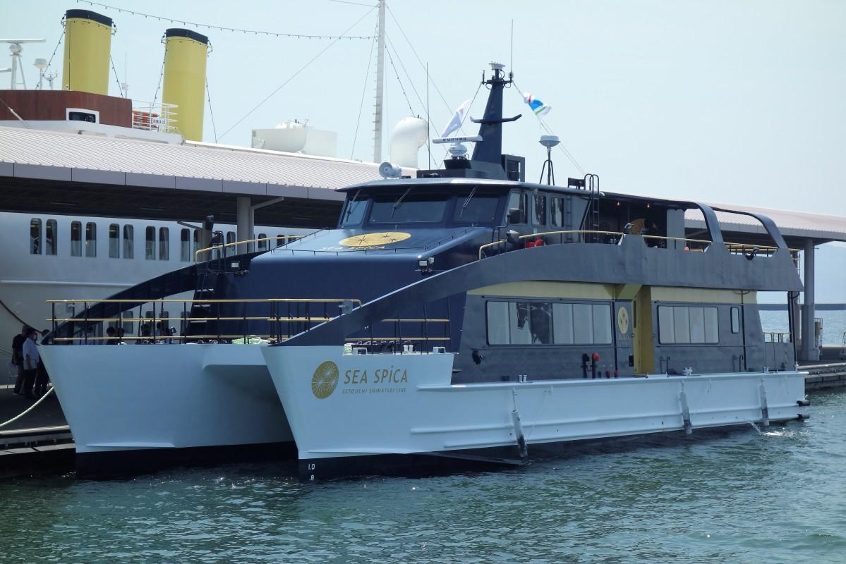 10月から運航が始まる観光型高速クルーザー「SEA SPICA(シースピカ)」