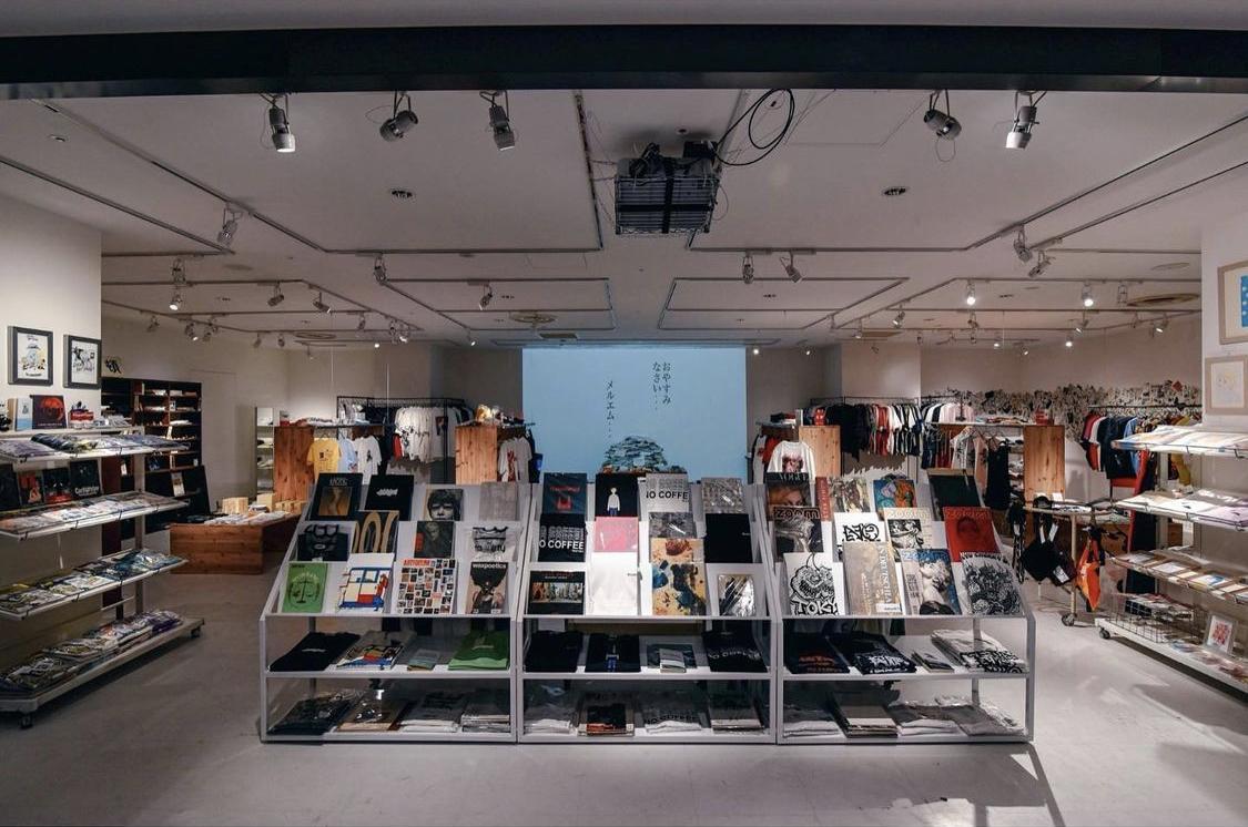 広島パルコを拠点に地方の文化やトレンドを集めたセレクトショップ「ローカルチャーストア」店内