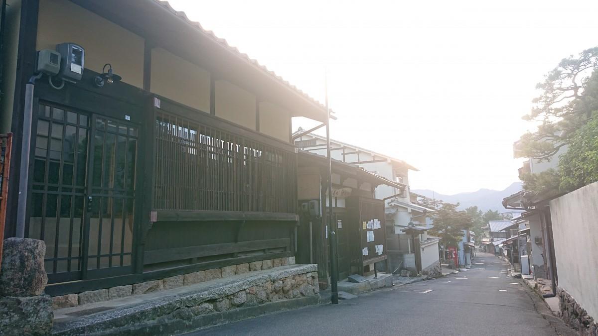 マルシェやワークショップを開く、広島・宮島の厳島神社に程近い中江町(ちゅうえまち)