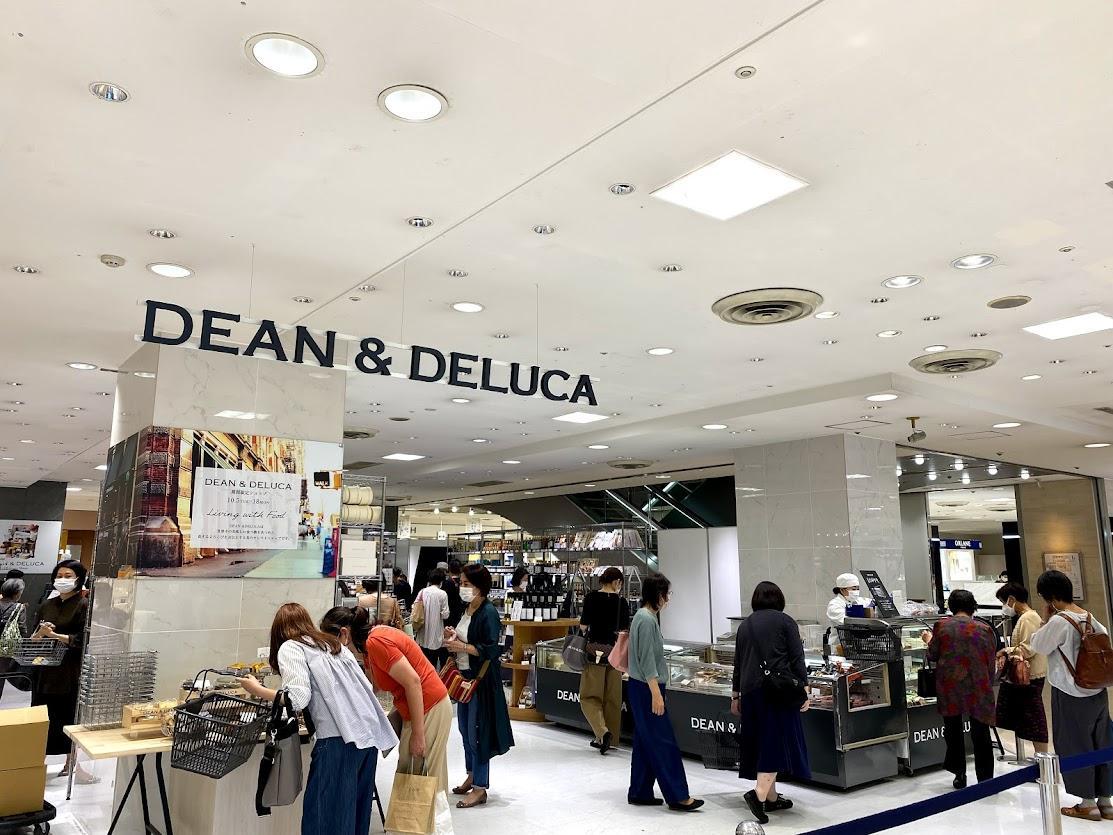 広島三越の人気催事「DEAN&DELUCA」期間限定店。食品やキッチンアイテム、エコバッグやトートバッグをそろえる