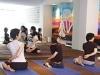 ヨガ教室運営者が常設スタジオ開設へ-インドをイメージした壁面も